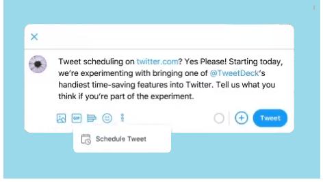Twitter Test Tweet Scheduling | Mind Frame India Advertising Agency